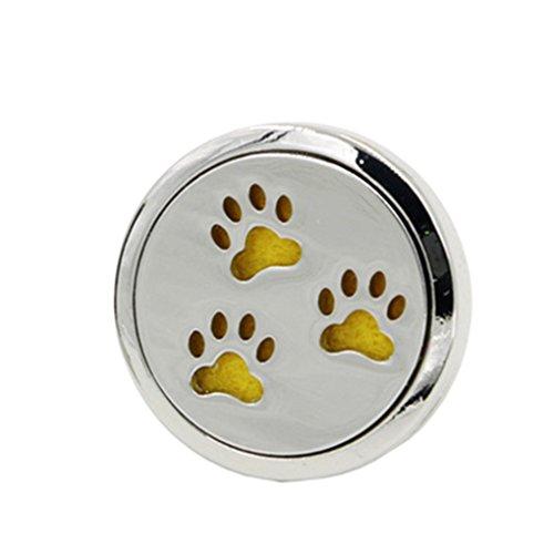 Busirde acciaio car air vent deodorante olio essenziale diffusore di aromaterapia clip purificatore per auto-styling decoration