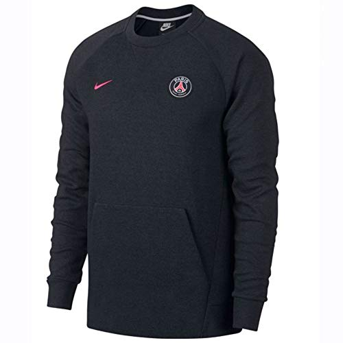 Nike Herren PSG M NSW CRW Optic Long Sleeved T-Shirt Black/Anthracite/Hyper pink S Preisvergleich