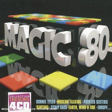 Coffret 4 CD : Magic 80