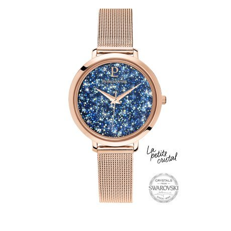 Pierre Lannier–Small Crystal–Ladies Watch–Rose Gold–105j968