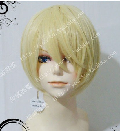 Heat-resistant high-quality wig Black Butler Alois cosplay wig costume (japan import)