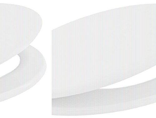 Carpemodo WC Deckel WC Sitz / Scharniere verchromt / Material Holz MDF / edles und modernes Design als Fotodruck / Farbe Weiß