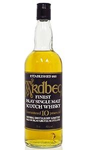 Ardbeg - Finest Islay Single Malt (clear bottle) - 10 year old Whisky by Ardbeg