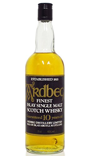 Ardbeg - Finest Islay Single Malt (clear bottle) - 10 year old Whisky