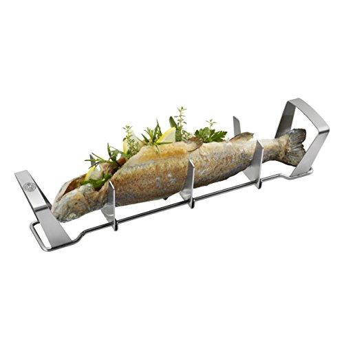 Deluxe Grill-tool (GEFU 89331 - Fischhalter BBQ)