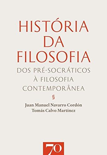 História da Filosofia (Portuguese Edition) eBook: Tomas Calvo ...