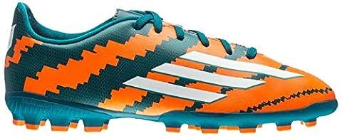 Adidas Jungen J MESSI 10,3AG J boots-green/Orange/Silber, Größe 3,5, Jungen, Messi 10.3 AG J, Green/Orange/Silver,
