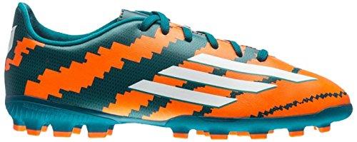 Adidas Messi 10.3 Ag J Stivali Verde / Arancione / Argento