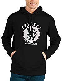 Bookmytees Chelsea Fan Art Full Sleeves Printed Cotton Hoodie For Men