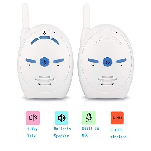 Babyphone mit Kamera, Portable Wireless 2,4 GHz Digital Audio Babyphone,XBCC Baby Monitor reicht bis 250 Meter Empfindliche Übertragung Stimme Zwei Wege Gespräch 250 Audio