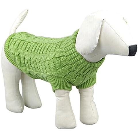 Ouneed® Camicia Piccolo Cane, Inverno Caldo Maglione