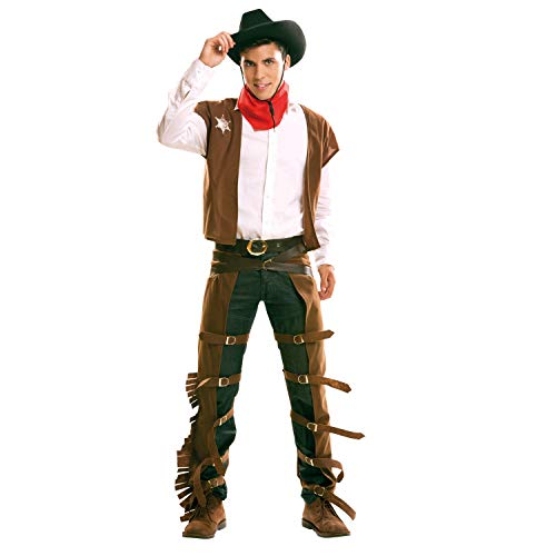 My Other Me - Costume da cowboy, da uomo (Viving Costumes) XL