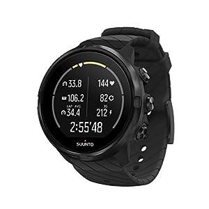 Suunto 9 Multisport-GPS-Uhr, Unisex, Negro (All Black), Talla Única