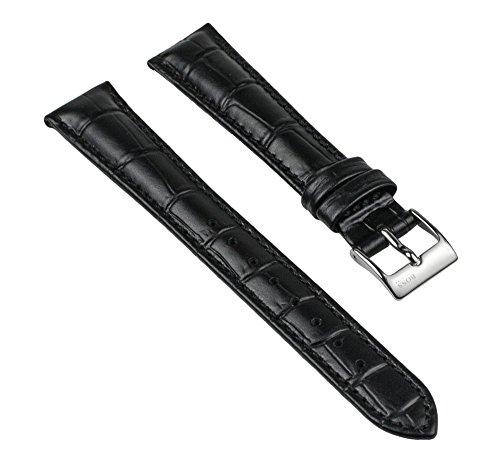 Hugo Boss Uhrenarmband Leder Band Ersatzband 16mm 1502176