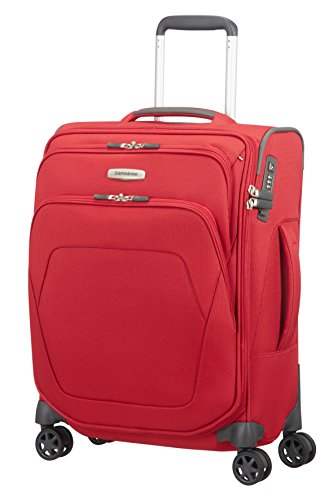 Samsonite spark sng - spinner 55/20 length 40cm bagaglio a mano, 55 cm, 43 liters, rosso (red)