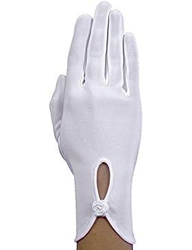 Corto schlichte Comunione Guanti Finger Rosch KB 22