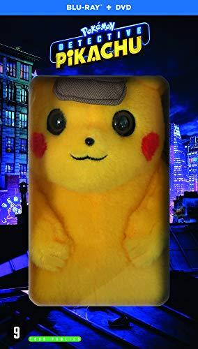 Pokémon-Détective Pikachu [Édition Limitée-Blu-Ray + DVD + Peluche]