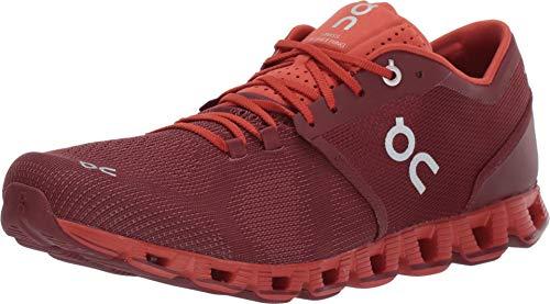 Zapatillas On Running Cloud X Sienna Rust Hombre 42 Rojo