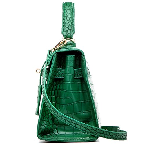Eysee, Poschette giorno donna Verde rosa 25cm*19cm*11cm verde