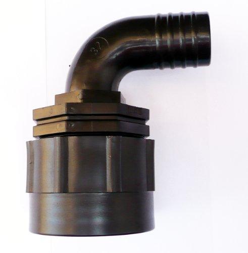 Heavy Duty IBC Adaptateur coudé pour tuyau queue (3 tailles) 1.1/4\