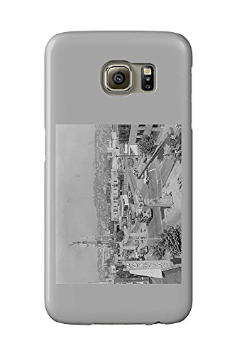 Space Needle and Monorail Construction Photograph (Galaxy S6 Cell Phone Case, Slim Barely There) - Monorail, Space Needle