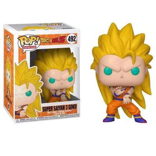 Pop Animation Dragon Ball Z - Super Saiyan 3 Goku Pop! Figura de Vinilo #492