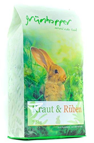 grünhopper Kraut&Rüben Kaninchenfutter (7,5kg)