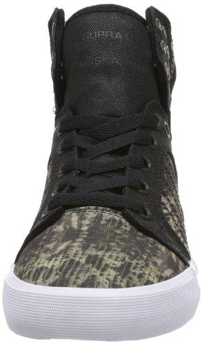 Supra - Sneaker WOMENS SKYTOP, Donna Nero (Schwarz (SNAKE/BLACK - WHITE SKB))