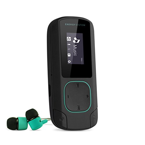 Energy Sistem Energy MP3 Clip Bluetooth Mint - Reproductor MP3 portátil, 8...