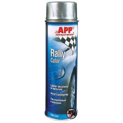 Preisvergleich Produktbild APP Rally Color Acryl-Lackspray Felgensilber 500ml
