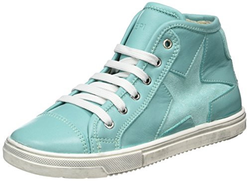 Lepi Mädchen 3096leq High-Top Blau (art.3096 C.20 Acqua)