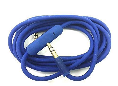 Beats Kabel Ersatz Audio Kabel mit Inline Fernbedienung Talk für Beats By Dr. Dre Solo HD Studio Pro Detox Wireless Solo 2.0 Kopfhörer