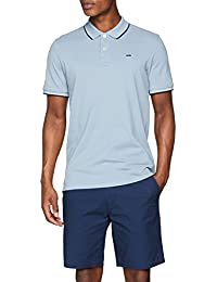 JACK & JONES Jjecontrast Stripe Polo SS Noos, Hombre