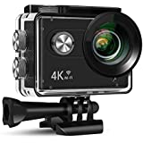 Xmate Stunt Sports Action Camera (Black) | Fast Mode - up to 120 FPS Video Recording |16MP Camera | 4K Video Vecording | Water-Resistant | Supports Micro SD Card up to 32G