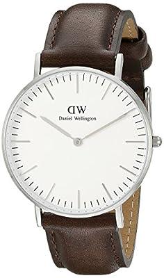 Daniel Wellington 0611DW - Reloj de pulsera para Mujer, blanco / marrón de Daniel Wellington