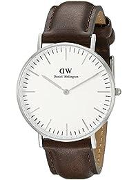 Daniel Wellington Damen-Armbanduhr Analog Quarz Leder DW00100056