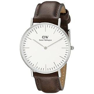 Daniel Wellington Reloj analogico para Mujer de Cuarzo con Correa en Piel 0611DW