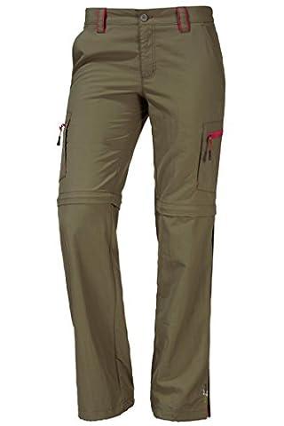 OCK Damen Zipphose grün 76