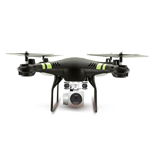 2017 Neue RC Helikopter Bovake 2.4G Höhe Attorney HD Kamera Quadcopter RC Drone WiFi FPV Damned Hubschrauber Hang in the air (black)