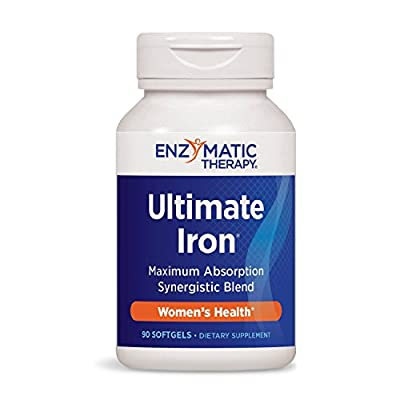 Enzymatic Therapy Ultimate Iron, 90 Softgels from Enzymatic