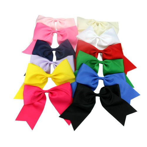 janecrafts-12pc-7-boutique-splayed-style-cheer-leading-hair-bows-girls-lady-alligator-clip-grosgrain