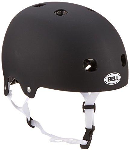 BELL Fahrradhelm Segment JR - Casco de Ciclismo Multiuso, Color Negro, Talla 48-53 cm