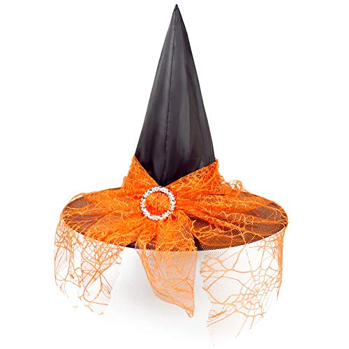 Klassische Hexe Für Erwachsene Kostüm - LTSWEET Hexen Hut Klassisch Halloween Hut