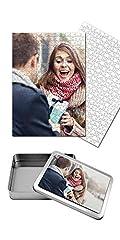 Idea Regalo - Puzzle Personalizzato con Foto Inclusa Scatola Regalo Personalizzata Puzzle 30x40 cm. 360 Tasselli