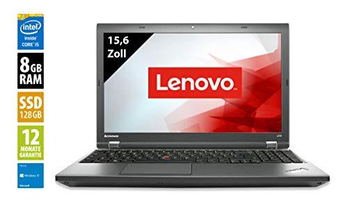 Lenovo ThinkPad L540 | Notebook | Laptop | 15,6 Zoll (1366x768) | Intel Core i5-4300M @ 2,6 GHz | 8GB DDR3 RAM | 128GB SSD | Windows 10 Home (Generalüberholt)