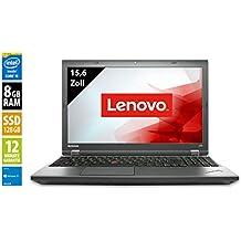Lenovo ThinkPad L540   Notebook   Laptop   15,6 Zoll (1366x768)   Intel Core i5-4300M @ 2,6 GHz   8GB DDR3 RAM   128GB SSD   Windows 10 Home (Generalüberholt)