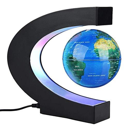 r Büro Dekoration Globus BeleuchtetSchwebender Globen Magnetische WeltKugel für Kinder Halloween, Business & Geburtstag Geschenke,B ()