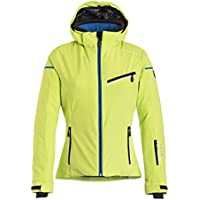 Hyra Neuchatel, chaqueta de esquí para mujer, mujer, Neuchatel, Verde lima