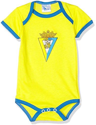 Cádiz CF Bodcad Body, Bebé, Multicolor (Amarillo/Azul), 09