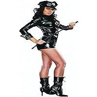 Cosplay Polizistin Lackleder Sexy Dessous Siamesische Kleidung Pole Dancing Nachtclub preisvergleich bei billige-tabletten.eu